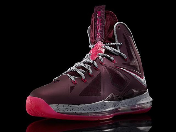 Another Look at Nike LeBron X Crown Jewel fit for His Majesty
