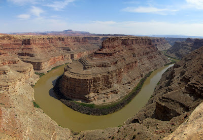 Green River, with the Green/Colorado confluence almost visible on the far right