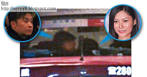 今年十月初,劉頌銘被拍到與廿一歲落選港姐李影珊約會,原本兩人乘坐劉的保時捷跑車,其後轉搭的士到紅磡,更在的士內頭貼頭,被指咀了 5秒,關係耐人尋味。 <br><br>《蘋果日報》圖片
