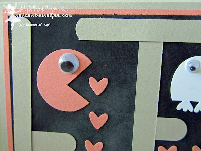 stampin up, pacman, punch art, owl punch, word window, wortfensert, happy watercolor