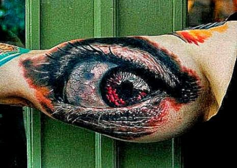 3D Eye Tattoo resizecrop