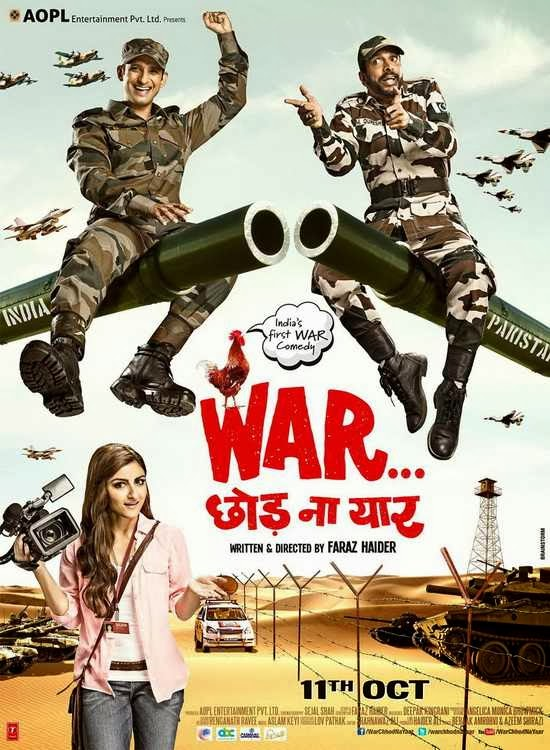 Poster Of Hindi Movie War Chhod Na Yaar (2013) Free Download Full New Hindi Movie Watch Online At alldownloads4u.com