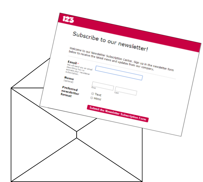 Can I embed my online form into an email?   123ContactForm