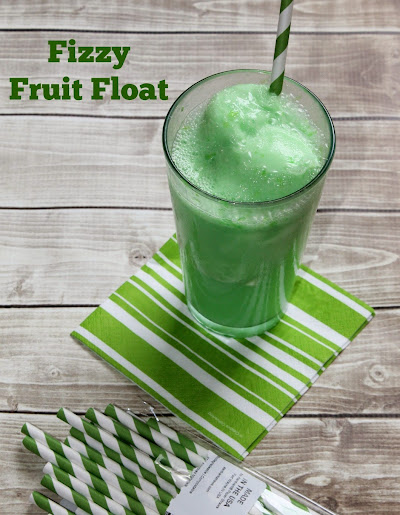 Fizzy Fruit Float Recipe #TENways