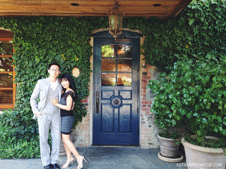 The French Laundry Restaurant.