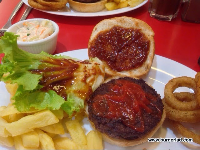 Ed's Easy Diner NFL Burgers