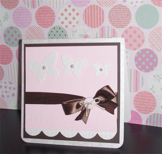 Invitación rosa con chocolate para 15 años