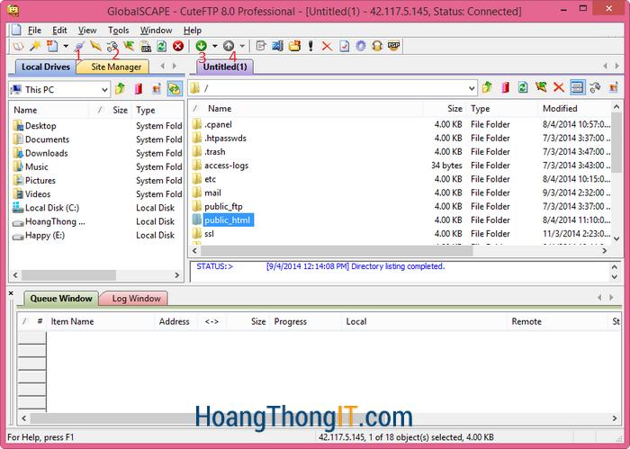 Phần mềm up host ít gây lỗi
