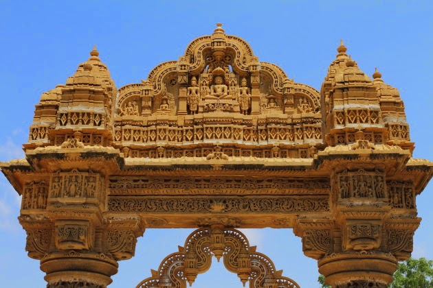 Torana of Ludrava Jain Temple