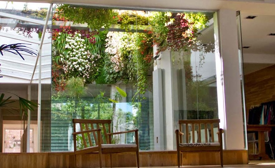 Jardín vertical en buenos aires, inntex