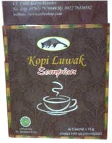 manfaat kopi luwak