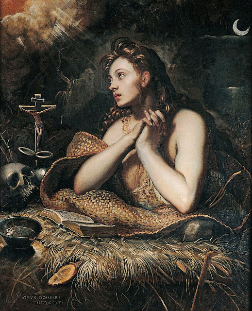 Tintoretto - Penitent Magdalene