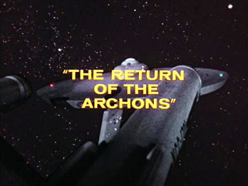 Star Trek Week The Return Of The Archons