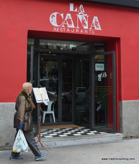 MADRID COOL BLOG restaurante la caña fachada grupo aldina chamberí cardenal cisneros alburquerque