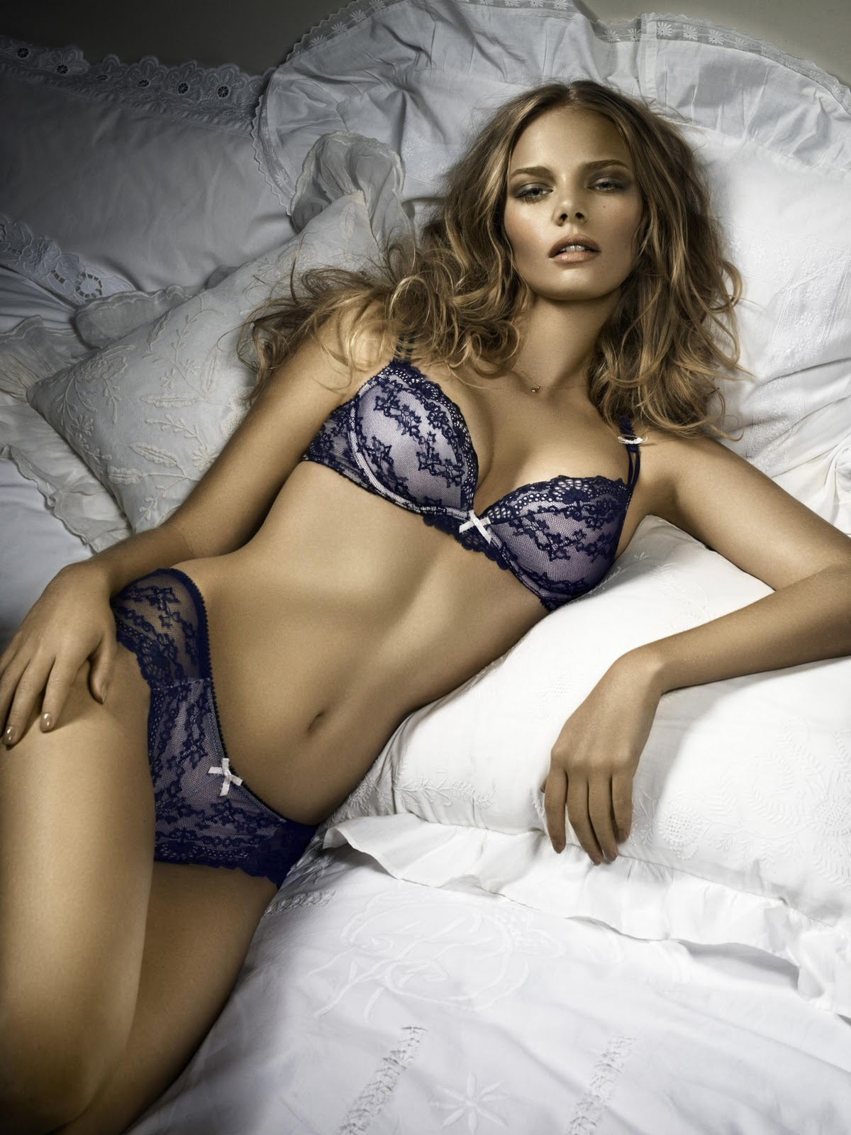 David Guetta  Marloes Horst (Myla S S lingerie Campaign 2010 ... f0fe67bfe