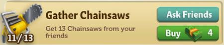 farmville 2 cheats codes for Chainsaws