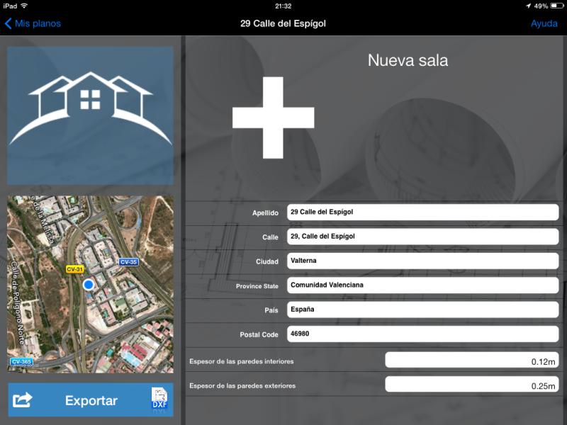 Apps de Construcción | Datos de la estancia geolocalizados en MagicPlan
