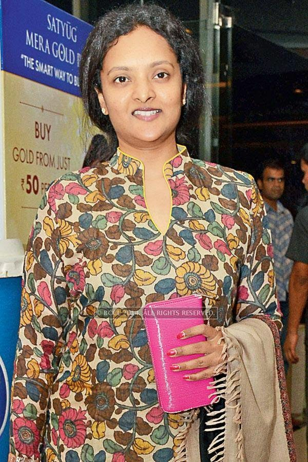 Deepti Rajesh during the screening of Salman Khan's latest film Kick, at a city multiplex.