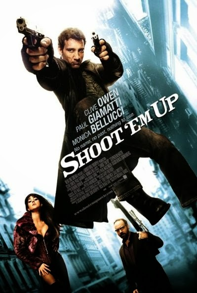 Poster Of Shoot 'Em Up (2007) Full Movie Hindi Dubbed Free Download Watch Online At Alldownloads4u.Com