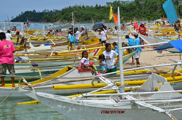 Iloilo boat recipients