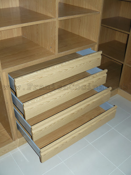 Franisa muebles de cocina y ba o en valladolid cajoneras - Cajoneras a medida ...