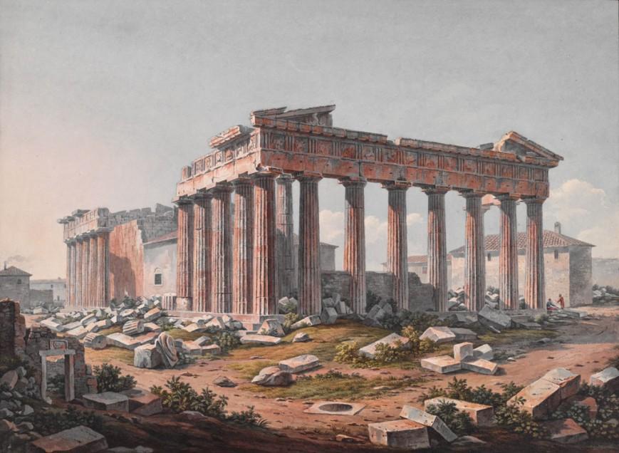 Ο Παρθενώνας, Αθήνα, μετά το 1805 / The Packard Humanities Institute