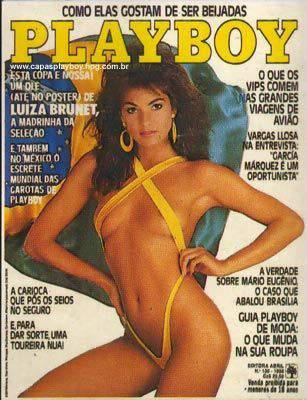 Luíza Brunet - Playboy 1986