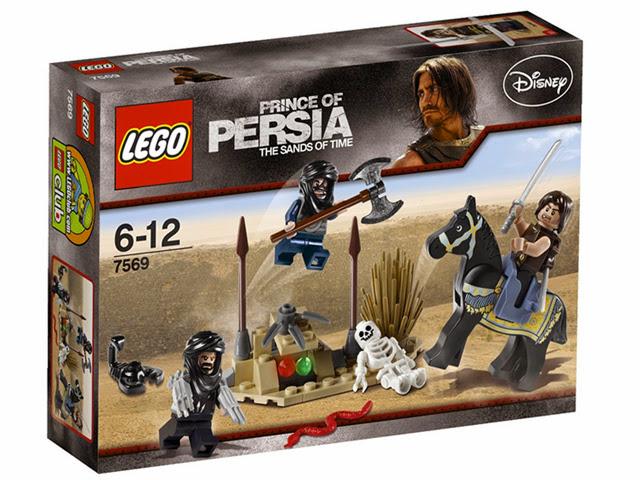 7569 レゴ プリンスオブペルシャ 砂漠の攻撃