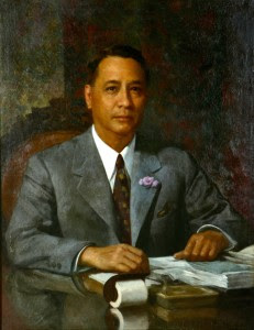 Manuel Roxas painting