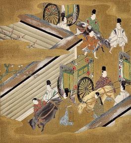 《源氏物語繪卷》第四十二帖匂宮 / 土佐光起繪