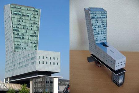 Tour de Lille Papercraft