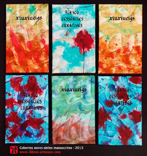 Cobertes amb títols dels llibres de poemes