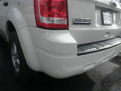 2010 Ford Escape with bumper damage repaired at Almost Everything Autobody