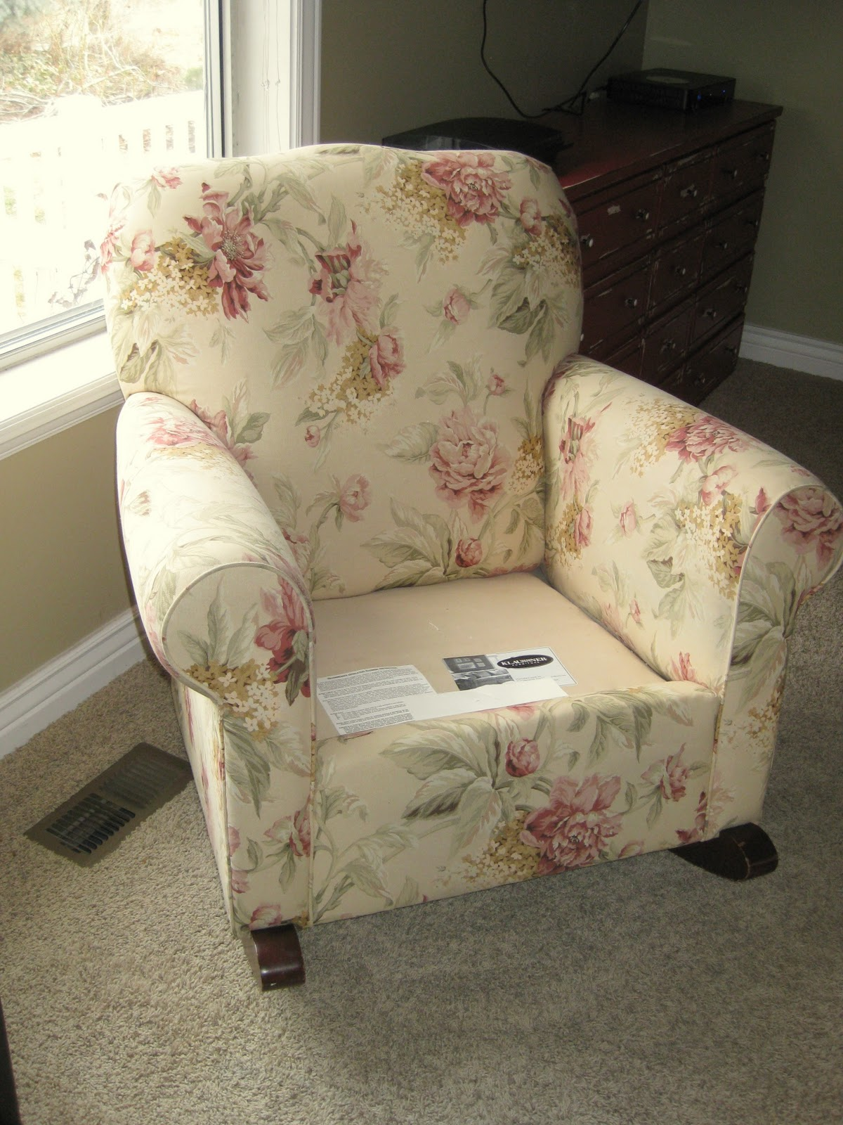 Custom Slipcovers By Shelley Another Upholstered Rocker