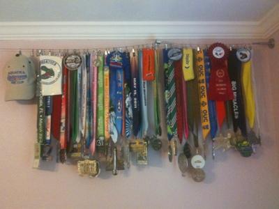 Diy Race Medal Hanger Ikea Half Tri Ing