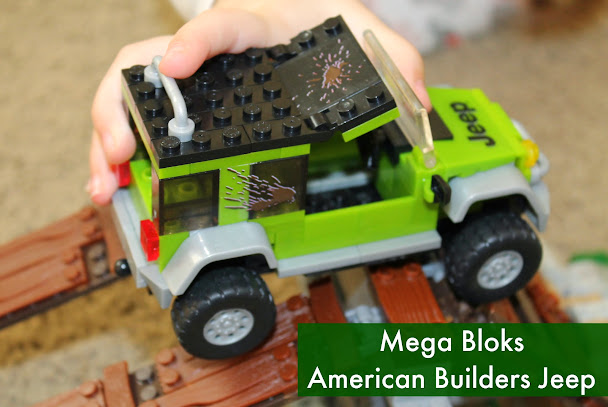 Mega Bloks American Builders Jeep Off-Road Adventures Set #AmericanBuilders