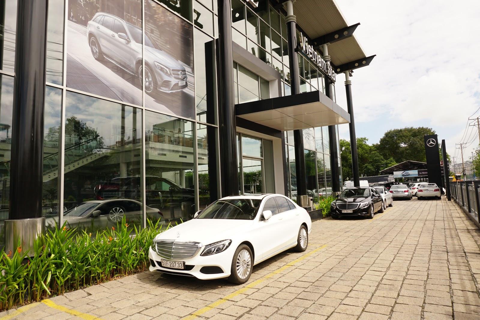 Mercedes Benz Vietnam Star Truong Chinh