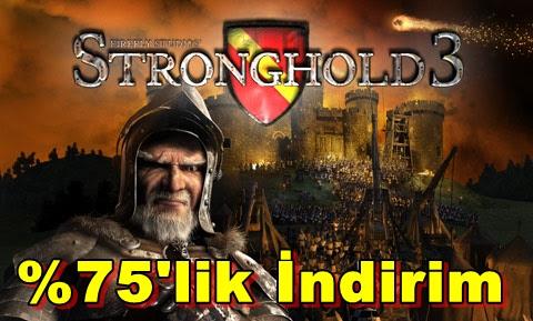 Stronghold 3,21 Aralık'a Kadar %75'lik İndirime Girdi!