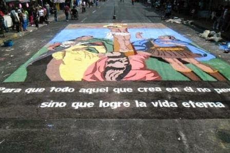 Las alfombras del Viernes Santo