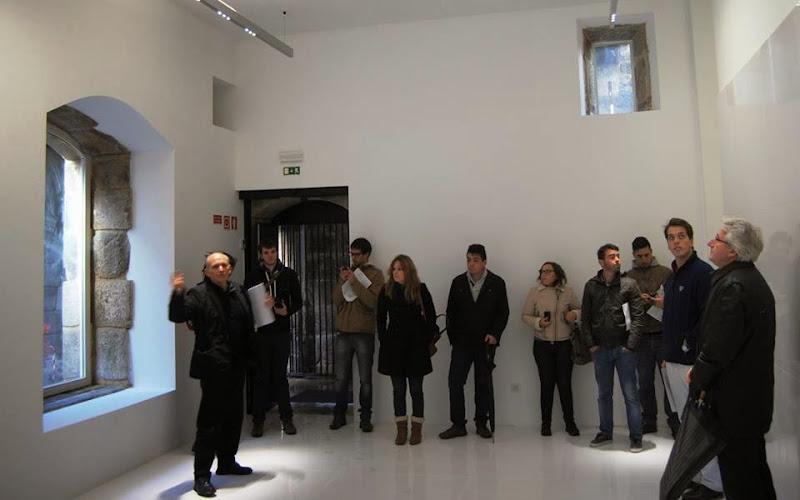 Universitários de Coimbra visitam obras do Viver Lamego