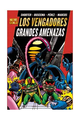 Marvel Gold: Los Vengadores - Grandes amenazas