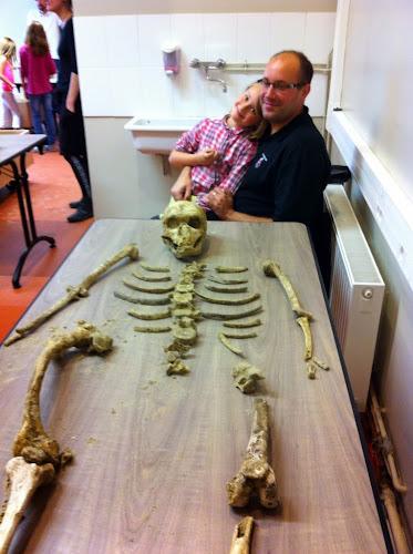 Archéologie et squelette à Lille