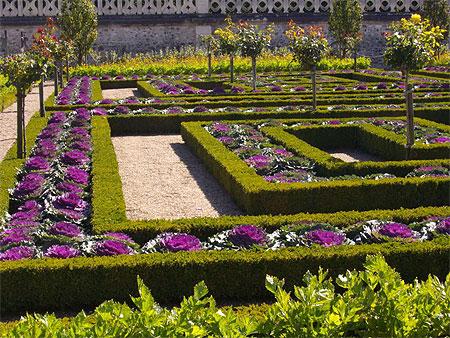 Jardinitis huertos bonitos castillo villandry francia for Jardines bonitos