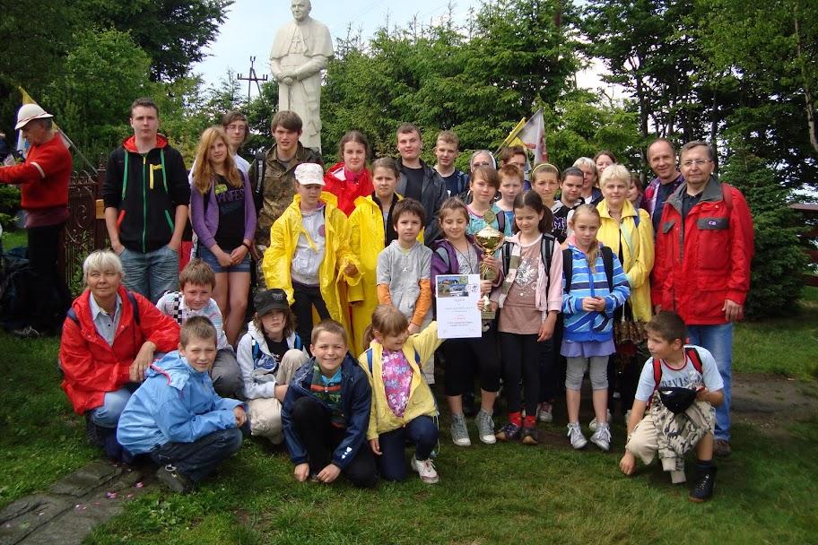 Na Groniu Jana Pawła II modliliśmy się za duszę ś.p. Bartosza Niewidoka