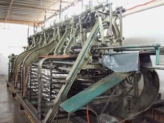Máquina tejedora leavers