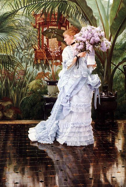 James Tissot - Lilacs,1875