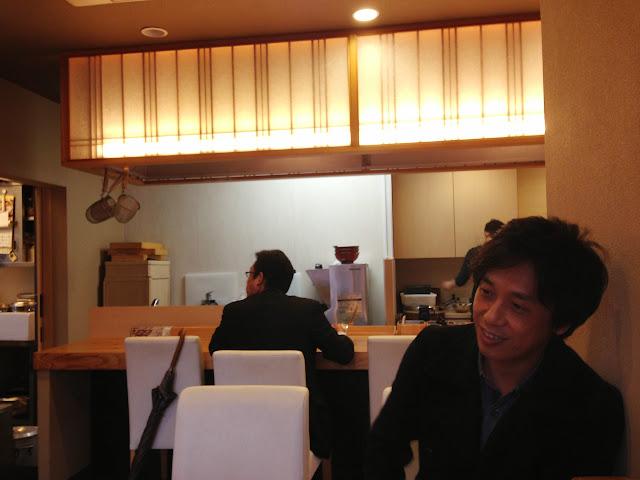 麺匠明石家ラーメンの店内-1