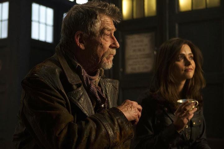 El Dia del Doctor: Clara y John Hurt