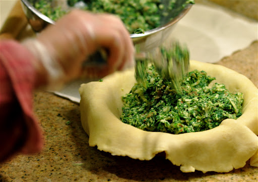 Italian nettle tort recipe