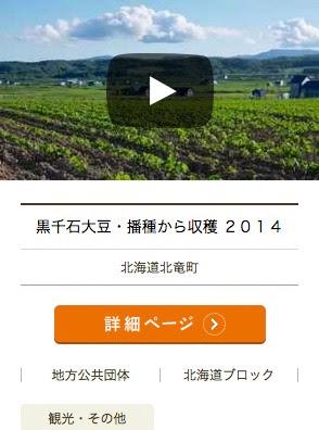 黒千石大豆・播種から収穫